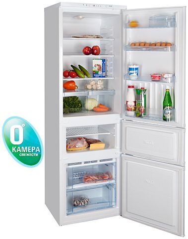 Полное обозначение модели холодильника: НОРД ДХМ-186-7-020- Белый НОРД ДХМ-